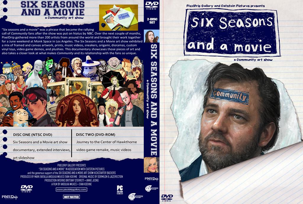Six Seasons and a Movie Art Show